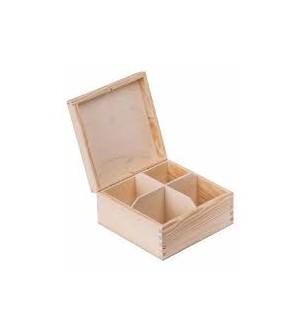 Pudełko na 4  herbaty