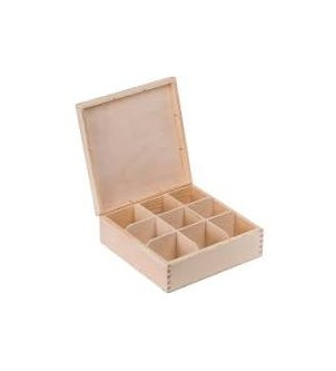 Pudełko na 9 herbat
