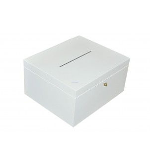 Pudełko na karty ślubne białe
