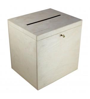 Pudełko z drewna na koperty...