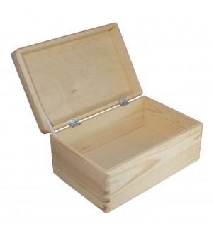 Pudełko z drewna zamykane