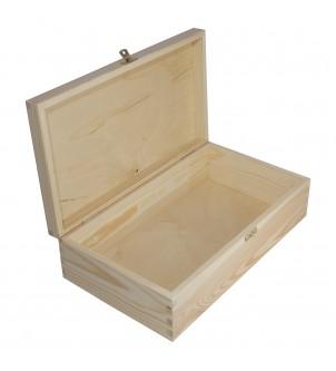 Pudełko z drewna zamykane...
