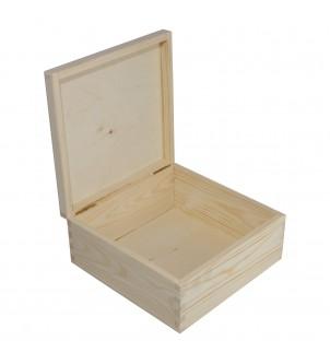 Małe kwadratowe pudełko z...