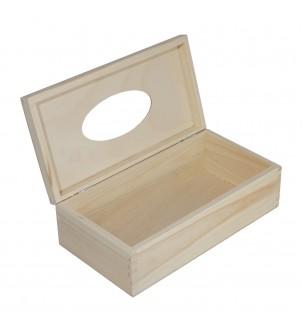 Zamykane pudełko z drewna...