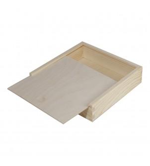 Kwadratowe płaskie pudełko...