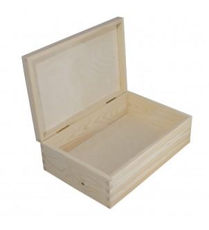 Zamykane pudełko z drewna